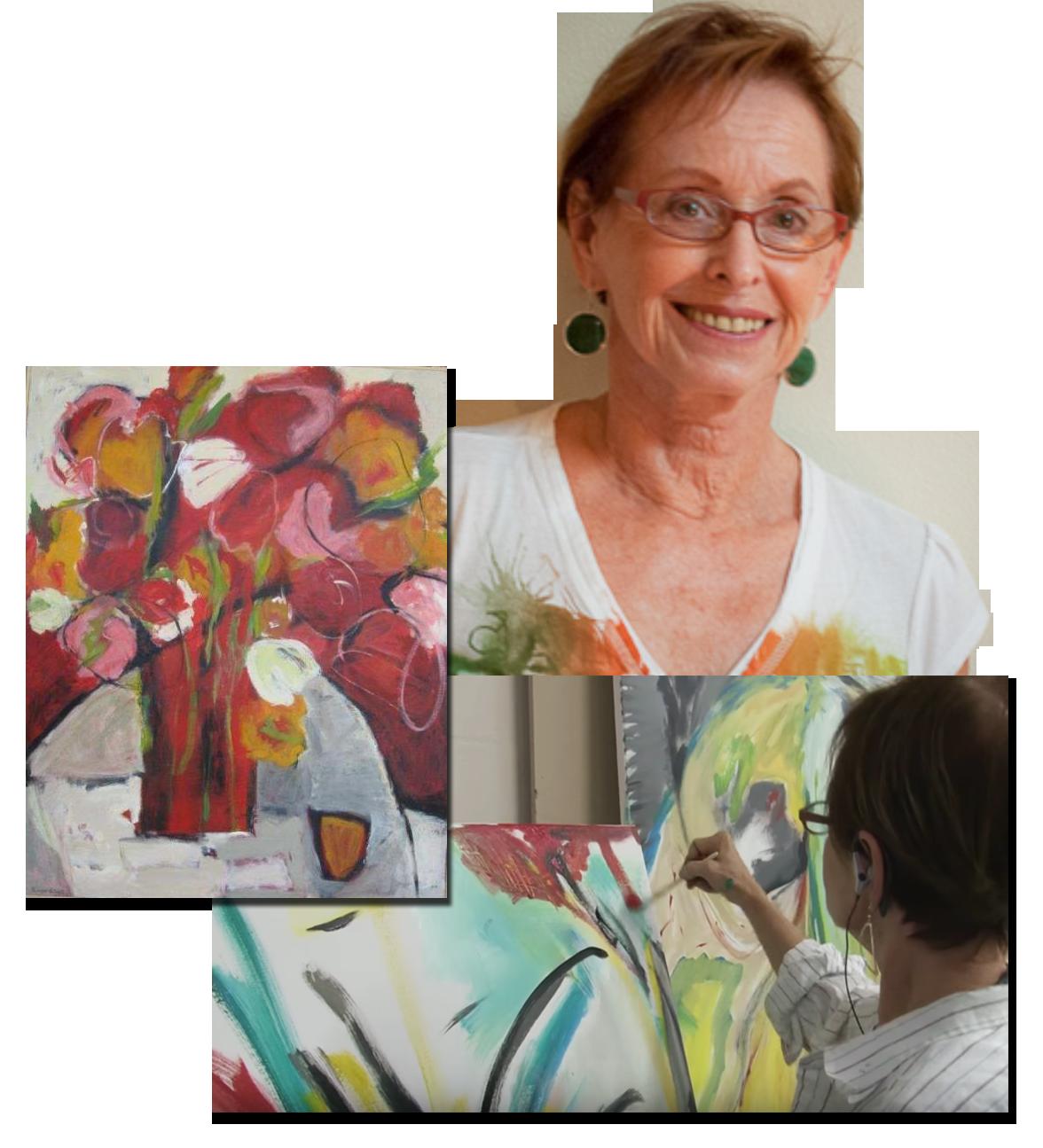 Susan von Gries Abstract Art